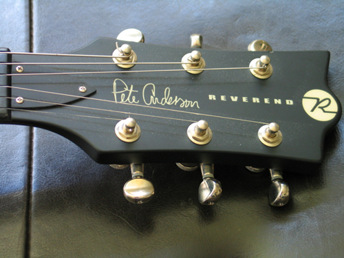 Reverend Pete Anderson guitar