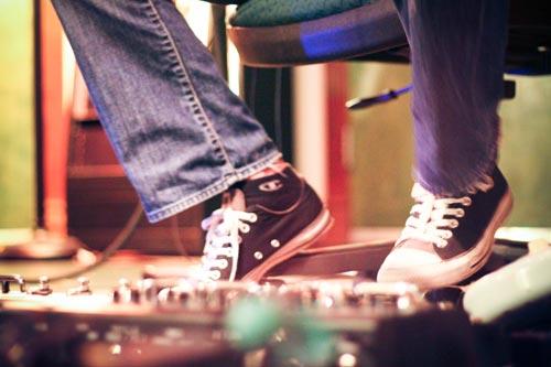 session at Eldorado Recording Studios