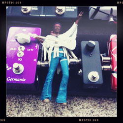Jimi Hendric on my pedalboard