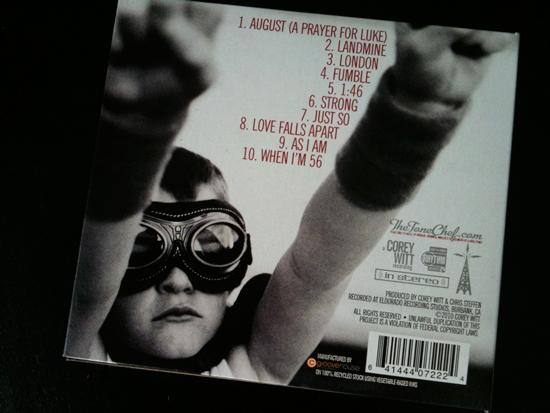 """""""Strong"""" cd, by Corey Witt"""