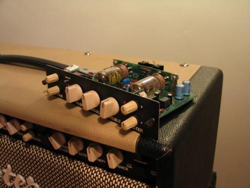 an Egnater MOD50 module