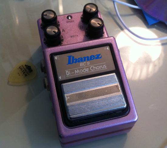 Ibanez Bi-Mode Chorus pedal