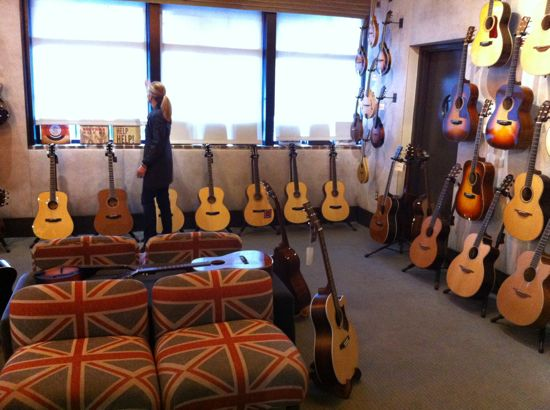 Guitar Vault at Two Old Hippies, Nashville